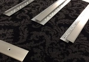 CLICK HERE FOR LARGER IMAGE OF SATIN ALUMINIUM  CARPET TRIMS